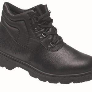Himalayan Black Dual Density PU Boot with Steel Midsole 2415
